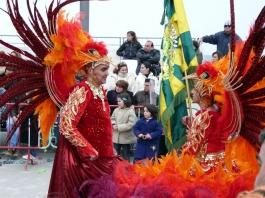 огнени птици на карнавал в Сесимбра - снимка - kikabelata