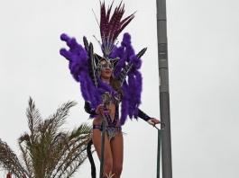 жената котка на карнавал в Сесимбра - снимка - kikabelata