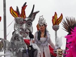 вампирка на карнавал в Сесимбра - снимка - kikabelata