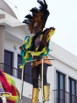 бразилец на карнавал в Сесимбра - снимка - kikabelata