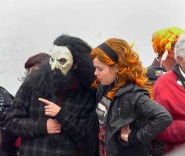 красавицата и звяра на карнавал в Сесимбра - снимка - kikabelata