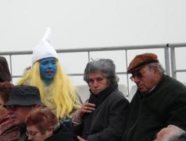 смърфиета на карнавал в Сесимбра - снимка - kikabelata