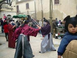 самураи на карнавал в Сесимбра - снимка - kikabelata