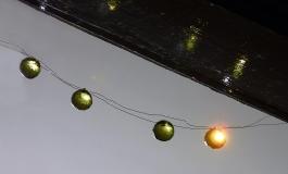green fire balls
