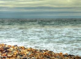 HDR november sea