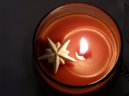 star and candle