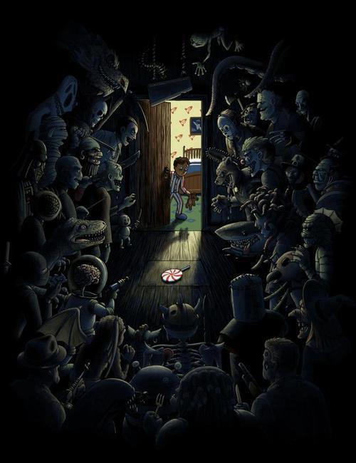 Страхове в тъмното - източник: интернет