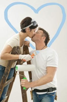 любов по време на ремонт - източник: интернет