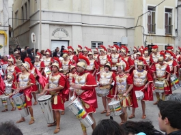 римски легионери на карнавал в Сесимбра - снимка - kikabelata - снимка - kikabelata