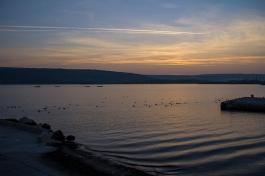 sunset in Varna
